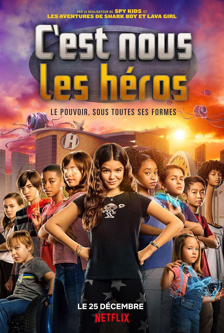 Affiche du film C'est nous les héros