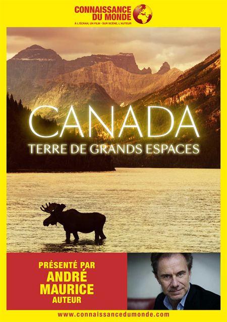 Connaissance du Monde : Canada, terre de grands espaces