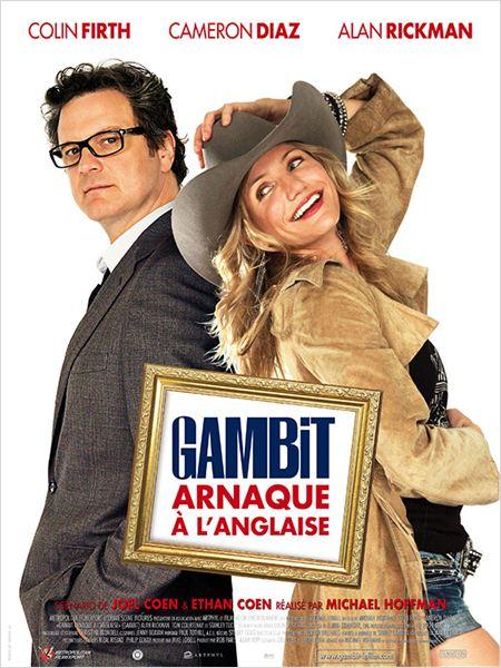 Gambit, arnaque à l'anglaise : Affiche