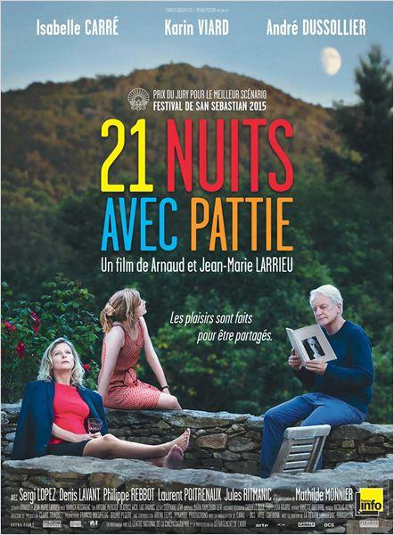 21 nuits avec Pattie : Affiche